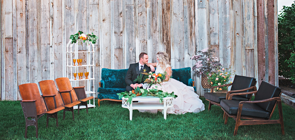 Blush Creek Boise Wedding Vintage Rentals